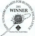 Winner of the 2001 Award for Business Excellence